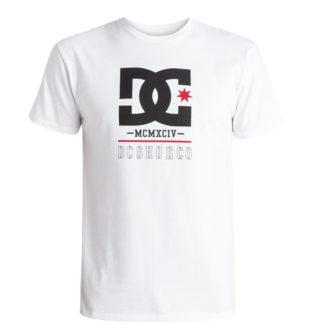DC RACKETT T-SHIRT WHITE