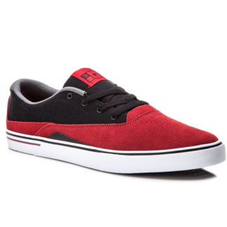 DC SULTAN S SHOES RED BLACK
