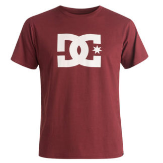 DC STAR SYRAH T-SHIRT BORDEAUX