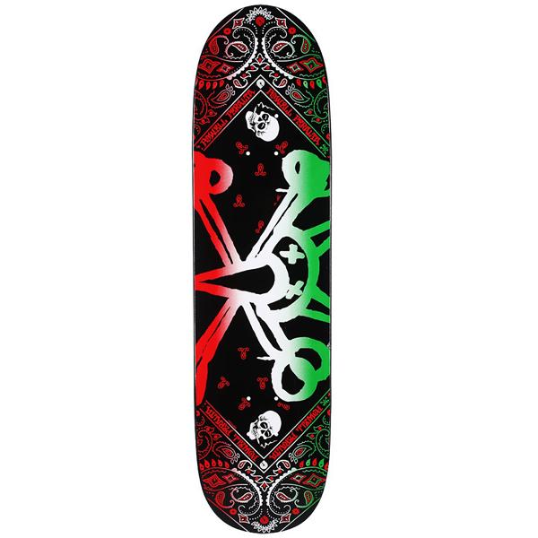 Powell Peralta VATO RAT BAND Skateboard Shirt WHITE MEDIUM
