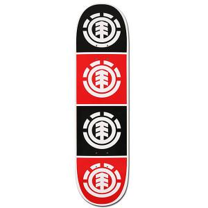element-quadrant-8-0-red-featherlight-skateboard-deck-_218265
