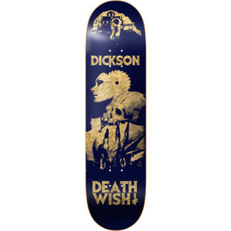 "DEATHWISH DICKSON COLORS OF DEATH 2 8.0""DECK"