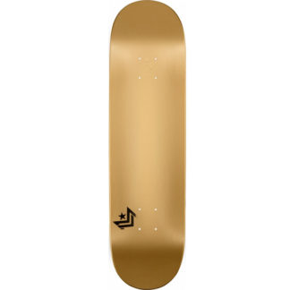 "MINI LOGO ML CHEVRON 8.25"" GOLD DECK"
