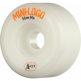 0326ce4cee0 MINI LOGO A-CUT 101A 55 MM WHITE CONSOLIDATED SKATEBOARD MALL CHAINS SUCK  8.0″