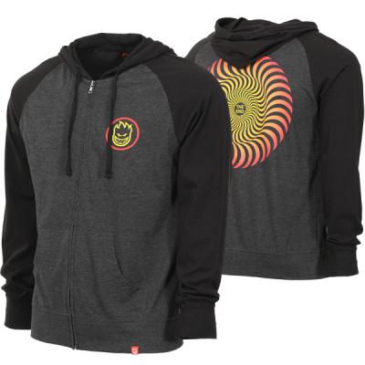spitfire-classic-swirl-fade-zip-hoodie-charcoal-heather-black