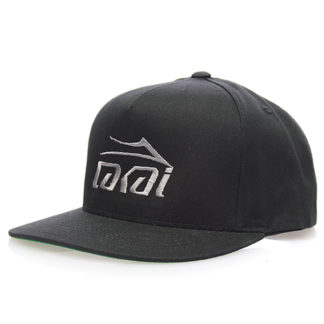 LAKAI BASIC SNAPBACK BLACK