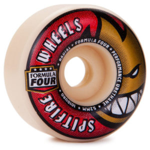 SPITFIRE FORMULA FOUR RADIALS 52MM – 101A WHITE RED