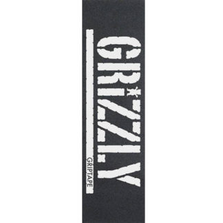 GRIZZLY GRIPTAPE OVERSIZED STAMP PRINT WHITE