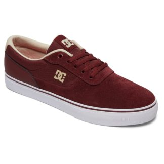 DC SWITCH S MAROON SHOES