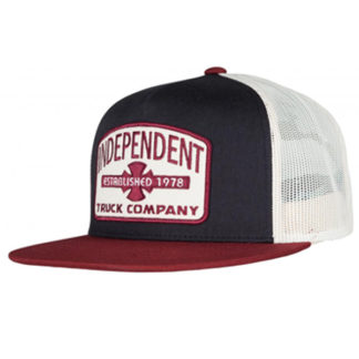 INDEPENDENT GARAGE MESH TRUCKER SNAPBACK