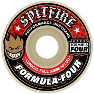 SPITFIRE F4  FULL CONICAL RED WHITE 52MM  101A