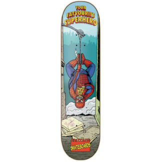 CRUZADE SKATEBOARD FAVORITE SUPERHERO 8.5""
