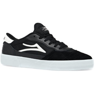 LAKAI CAMBRIDGE SHOES BLACK/WHITE SUEDE