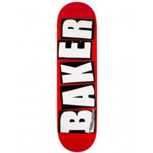 BAKER  BRAND LOGO RED WHITE 8.2″