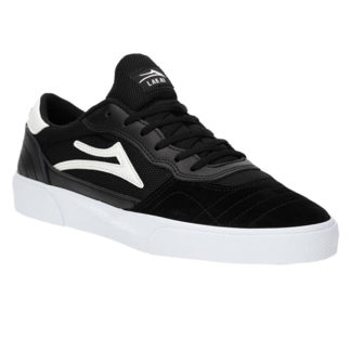 lakai cambrige black/white suede