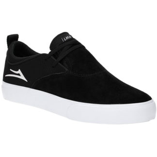 LAKAI RILEY 2 BLACK WHITE SUEDE