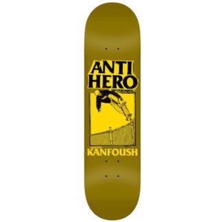 ANTIHERO KANFOUSH X LANCE II 8.5 SKATEBOARD DECK
