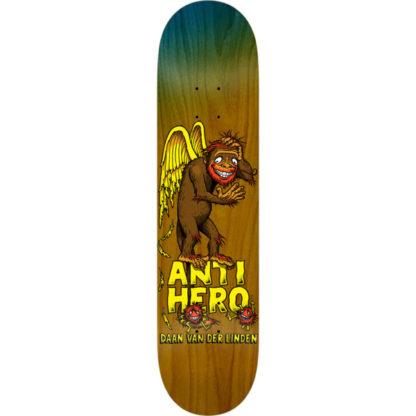 "Anti Hero Skateboards Daan Van Der Linden Grimple Business Skateboard Deck - 8.06"" x 31.8"""