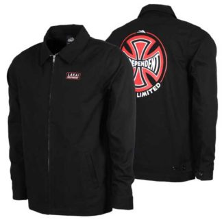 LAKAI INDEPENDENT GARAGE JACKET BLACK