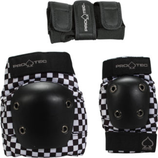 STREET GEAR 3 PACK - BLACK CHECKER - YOUTH