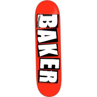 BAKER BRAND LOGO WHITE DECK 8.125