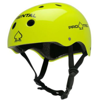 PRO-TEC HELMET RENTAL CLASSIC CERTIFIED YELLOW