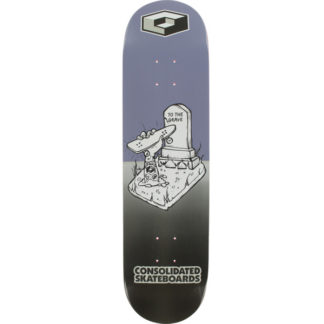 "CONSOLIDATED GRAVE 8.25"" TAVOLA SKATEBOARD"
