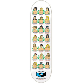 """CONSOLIDATED BOOBS 8.0"""" SKATEBOARD"""