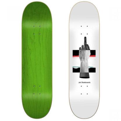 "JART ABSTRACT 8.0″ Width: 8,0"" Height: 31,44"" Wheelbase: 14,2"" Tail: 6,36"" Nose: 6,69"" tavola da skate offerta da Contamined Skate Shop e SPEDIZIONE GRATIS"