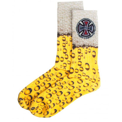 INDEPENDENT SUDS SPORT SOCKS YELLOW