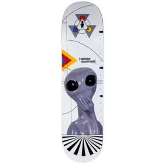 ALIEN WORKSHOP SAMMY MONTANO DEBUT WHITE 8.25″ DECK
