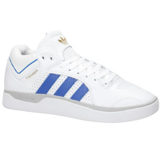 ADIDAS SKATEBOARDING TYSHAWN SHOES WHITE BLUE GOLD MELANGE