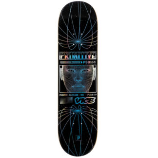 "PRIMITIVE X VICE FEED 8.25"" DECK BLACK"