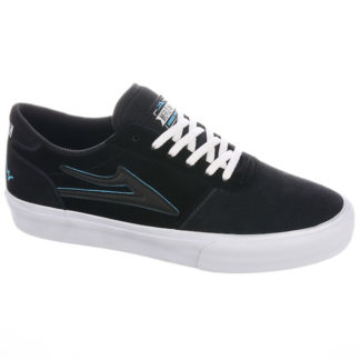 LAKAI MANCHESTER X MERIDIAN SHOES CHARCOAL/BLACK SUEDE