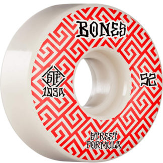 BONES WHEELS STF V2 SERIES VI WHITE RED 52MM 103A