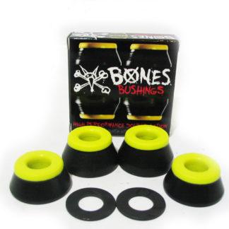 BONES BUSHINGS 91A HARDCORE MEDIUM BLACK YELLOW
