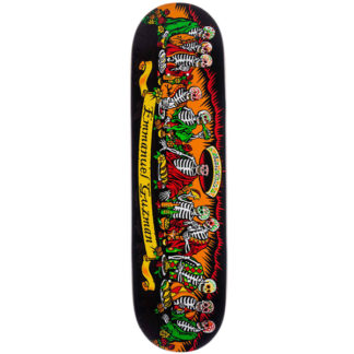 "SANTA CRUZ GUZMAN DINING WITH THE DEAD 15Y 8.27"" DECK"