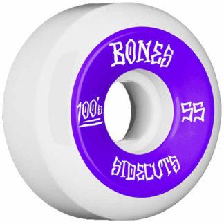 BONES WHEELSFORMULA OG V5 100A WHITE PURPLE 55MM