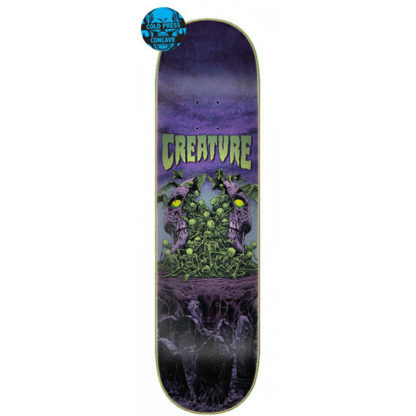 "CREATURE COLOSSUS COLDPRESS 8.25"" DECK PURPLE"