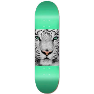 "MINI LOGO CHEVRON ANIMAL 8.25"" TIGER MINT DECK"