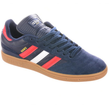 ADIDAS SKATEBOARDING BUSENITZ PRO SHOES NAVY/SCARLET/CLOUD WHITE