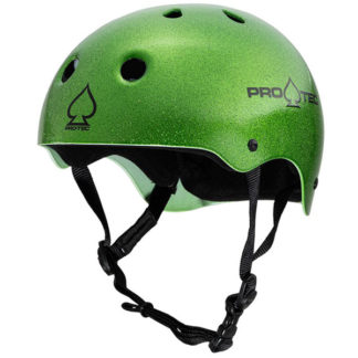 PRO-TEC HELMET CLASSIC CERTIFIED CANDY GREEN FLAKE