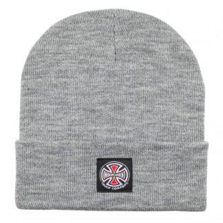 INDEPENDENT T/C LABEL BEANIE ATHLETIC HEATHER