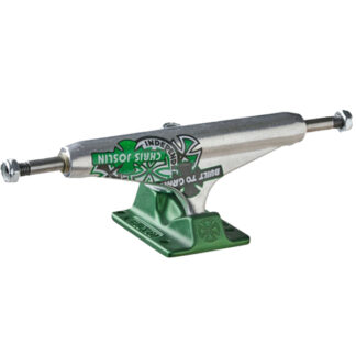 INDEPENDENT 139 STAGE 11 STANDARD JOSLIN FORGED HOLLOW TRUCK SILVER GREEN