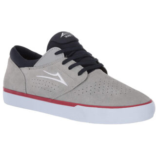 LAKAI FREMONT VLC SUEDE SHOES LIGHT GREY/NAVY SUEDE