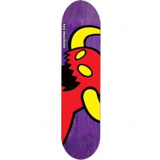 "TOY MACHINE VICE MONSTER 8.25"" DECK PURPLE"