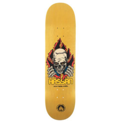 "BLACK LABEL HASSAN RIPPER 8.38"" DECK"