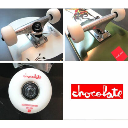 "CHOCOLATE LUCHADORE ALVAREZ 8.0"" SKATE COMPLETO"