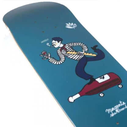 """MAGENTA LE FRENCH 8.25"""" DECK BLUE"""