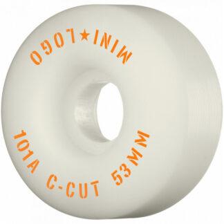 MINI LOGO WHEELS C-CUT 101A 53MM WHITE